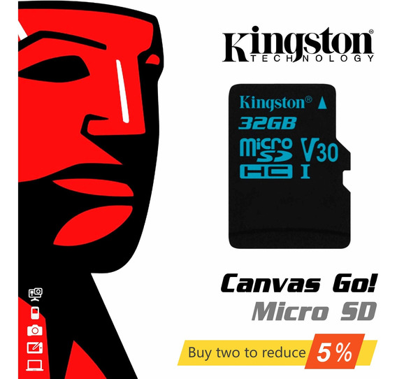 Kingston Micro Sd Cartão 32 Gb Cartão De Memória Tf Microsd