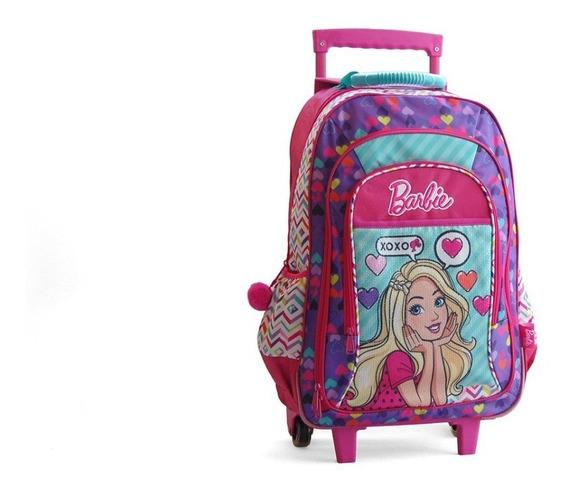 Mochila Barbie Multicolor Carro 17