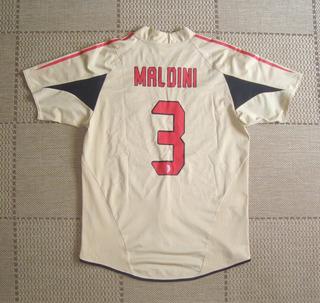 Camisa Original Milan 2004/2005 Third #3 Maldini