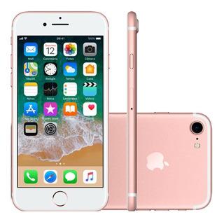 iPhone 7 Apple 32gb, Câmera 12mp, Ios11, Ouro Rosa - Mn912br