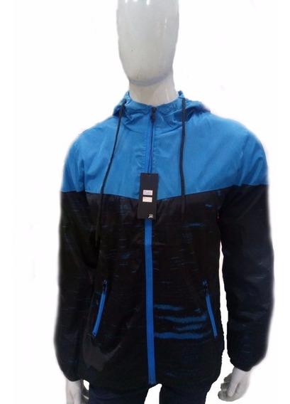 Jaqueta Masculina Blusa Corta Vento Impermeável Capuz Casaco