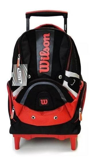 Mochila Carro Wilson Original Backpacks 18 Pulgadas Playking
