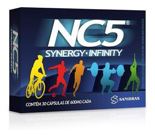 Nc5 Synergy Infinity 30 Caps 600mg - Energia E Desempenho