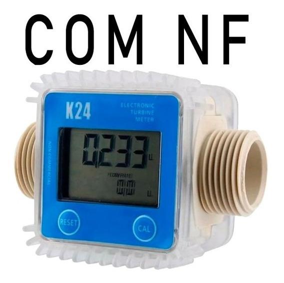 Medidor Digital K24 Fluxo De Água-óleo-diesel-gasolina