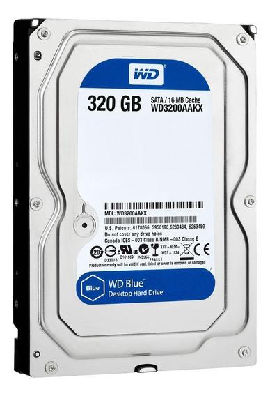 Disco rígido interno Western Digital WD Caviar Blue WD3200AAKX 320GB azul