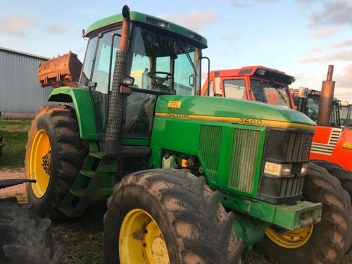 Tractor Agricola Usado John Deere 7600