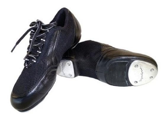 Zapato Para Hombre Mujer Jazz De Danza Tap Claqué Sneaker