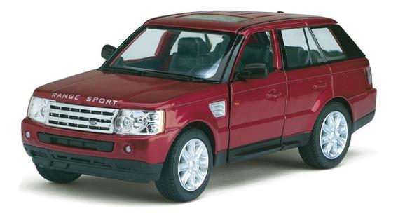 Auto De Coleccion Range Rover Sport Die Cast Metal Pullback