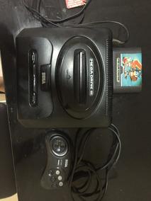 Mega Drive 3 Jogos + Controle Original + Av