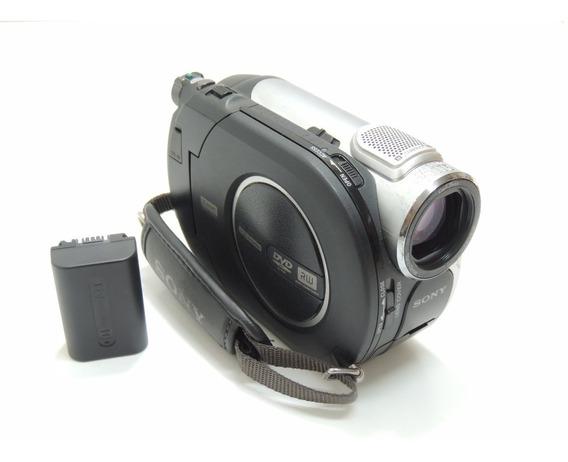 Filmadora Sony Dcr Dvd105 Com Todos Os Acessórios