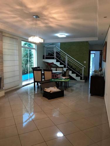 Imagem 1 de 13 de Sobrado Com 3 Dormitórios À Venda, 202 M² Por R$ 976.000 - Paulicéia - São Bernardo Do Campo/sp - So2240