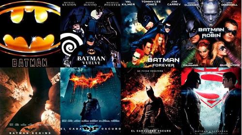 Imagen 1 de 1 de Saga Batman - Peliculas Digital-