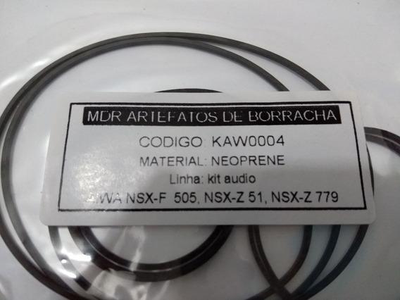 Kit Correias Som Aiwa Nsx-f 505/ Nsx-z51 / Nsx-z 779