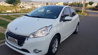 Peugeot 208 Allure - Branco - Teto Panorâmico - Único Dono