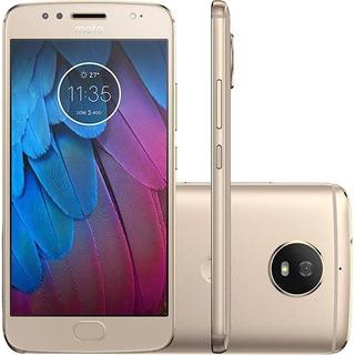 Motorola Xt1792 Moto G5s Dual 32gb 4g Dourado   Vitrine