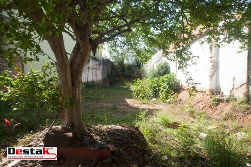 Terreno À Venda,  - Vila Guiomar - Santo André/sp - Te0236