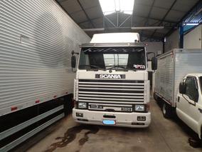 Caminhão Scania R-113h 360 4x2 Ano 1997/98 Branca Nova