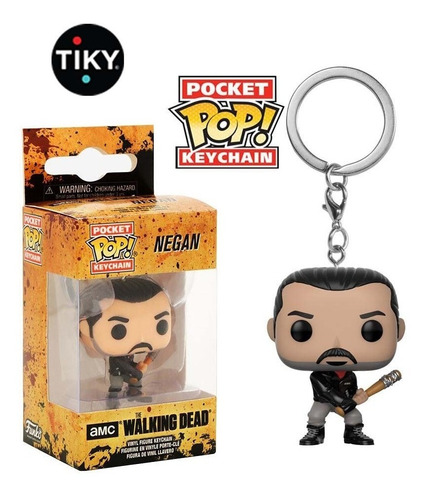 Funko Pop Llavero Negan The Walking Dead Twd Keychain