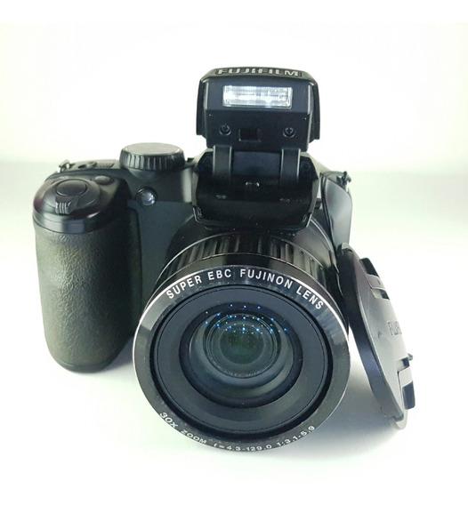 Câmera Digital Semi Profissional Finepix S4800 16m Semi Nova