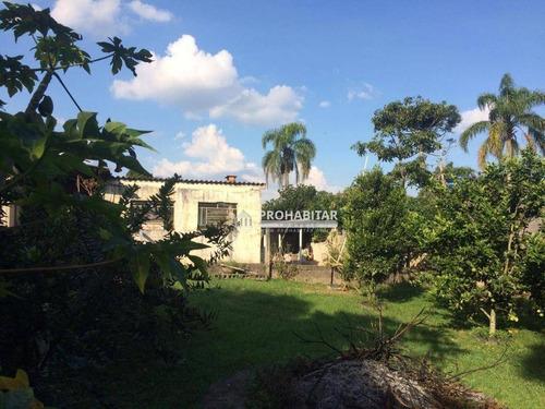 Chácara À Venda, 1400 M² Por R$ 380.000,00 - Grajaú - São Paulo/sp - Ch0152