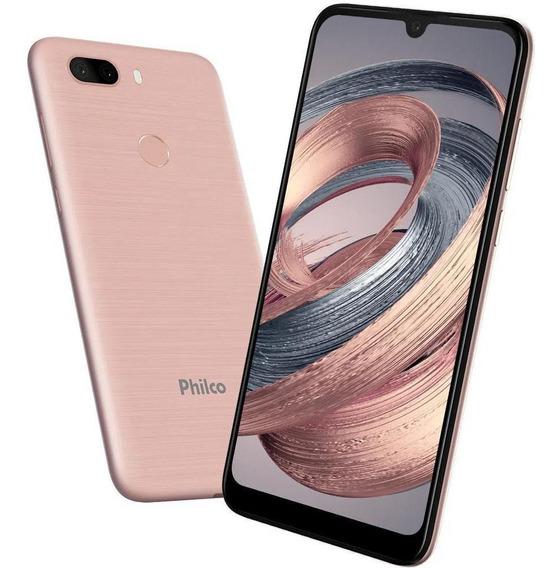 Philco Celular Smartphone Pcs02rg Rose Gold 128gb