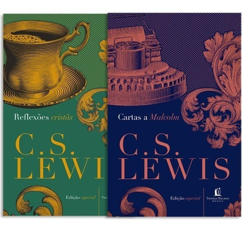 Reflexões Cristãs E Cartas A Malcolm Livro C. S. Lewis