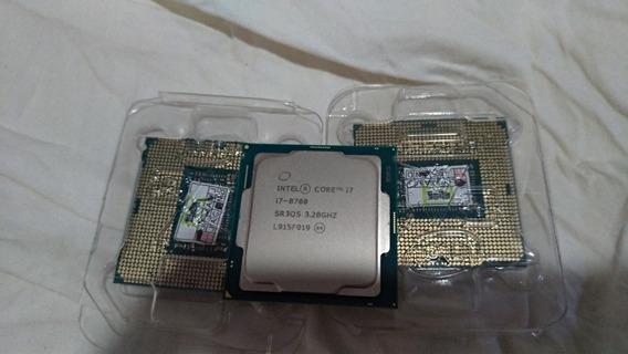 Processador Intel I7 8700 8ger 1151 Com Garantia Faço 1899