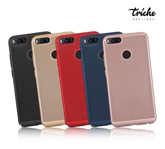 Funda Case Slim Elegante Puntos Colores Xiaomi Mi A1