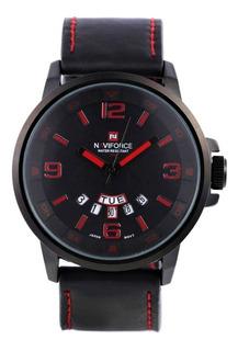 Reloj Hombre Naviforce Nf9028 Día Padre Calendario Sumergibl