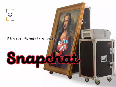 Espelho Mágico De Fotos Selfie Mirror Com Snapchat Venda