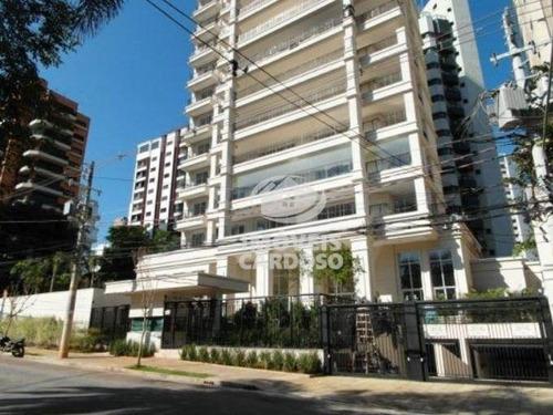 Imagem 1 de 8 de Apartamento Residencial À Venda, Indianópolis, São Paulo. - Ap0006