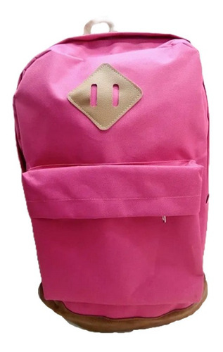 Bolso Morral Universidad Cole Estilo Jansport Totto Fucsia
