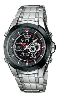 Reloj Casio Edifice Efa-119bk-1a. Analogico- Digital. Nuevo