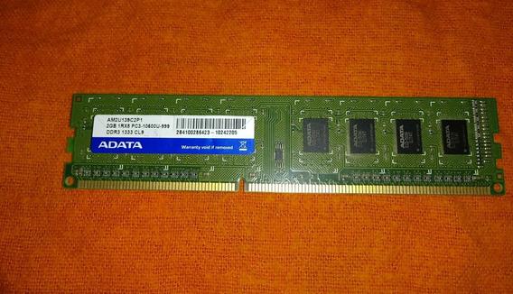 Memoria Ram Pc 2gb Ddr3 Adata