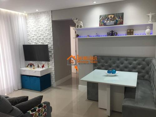 Imagem 1 de 16 de Apartamento Com 2 Dormitórios À Venda, 58 M² Por R$ 378.000,00 - Jardim Flor Da Montanha - Guarulhos/sp - Ap2061