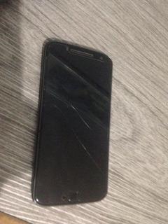 Motorola Motog4 Plus 32gb Preto Com Defeito