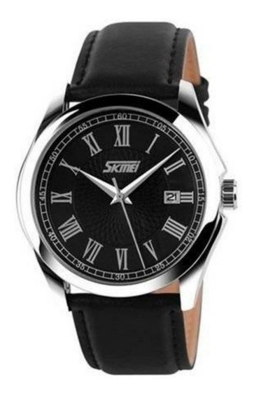 Relógio Masculino Skmei Analógico 9076 Preto Aprova D