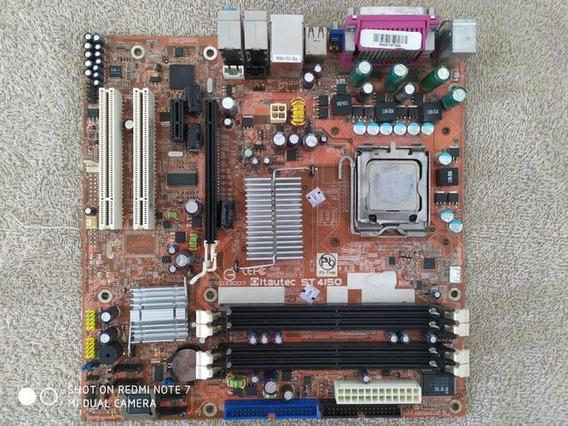 Placa Mãe St 4150 Itautec Intel Pentium Dual Core E2200 2.2