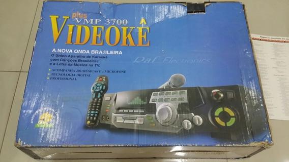 Videoke Raf 3700 Com 200 Musicas E Um Microfone Funcionando