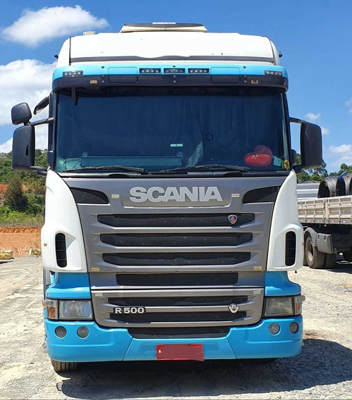 Scania R500 Higline Automatico 6x4 Ano 2010