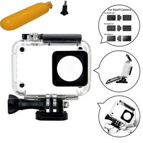 Caixa Estanque + Boia Flutuante Para Câmera Yi 4k