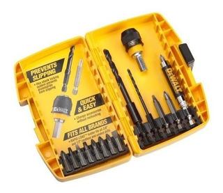 Dewalt Dw2513 Carga Rápida 15 Piezas De Perforación Y Sistem