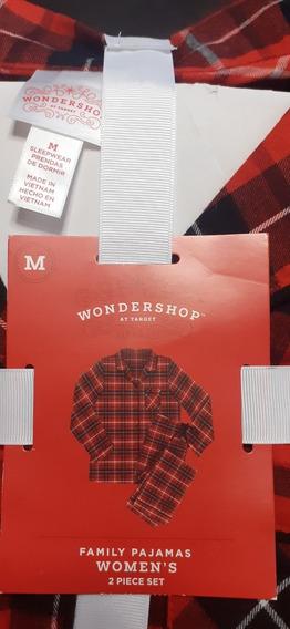 Pijama Para Dama De Dos Piezas, Talla M, Marca Wondershop