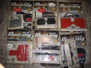 Fascículos Ford Mustang 1/8