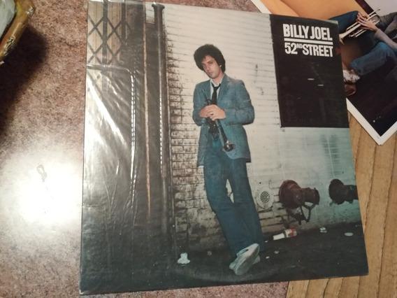 Billy Joel/ 52 Nd Street/ Vinilo 1978 Printed In Usa .