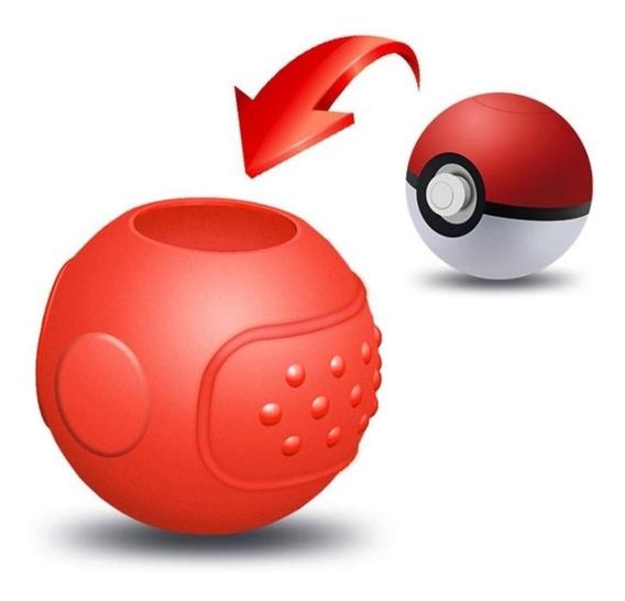 Capa Protetora Pokébola Pokémon Lets Go Plus Silicone