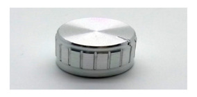 Knob De Alumínio De Eixo Estriado B21x13