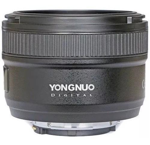 Lente Yongnuo Yn 50mm F1.8 Para Nikon C/ Nf-e