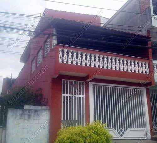 Sobrado 2 Dorms, Jardim São Manoel, Guarulhos - V1912