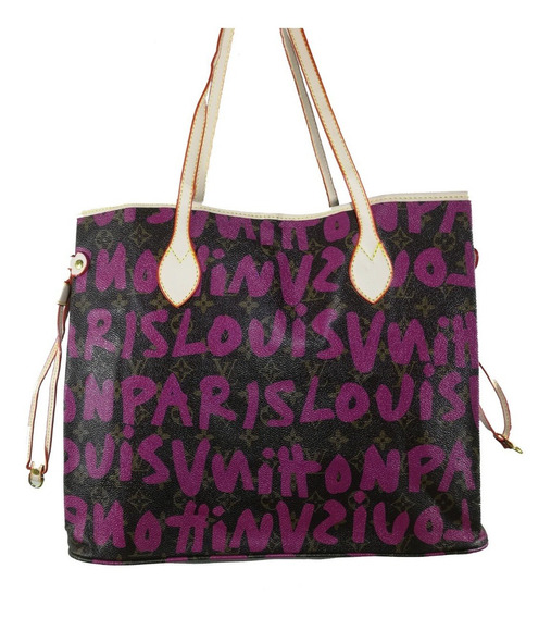 Bolsa Feminina Louis Vuitton Paris Couro - Oferta